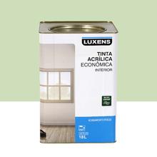 Tinta Acrílica Fosco Econômica Verde Limão 18L Luxens