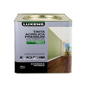 Tinta Acrílica Fosco Premium Gelo 7,20L Luxens