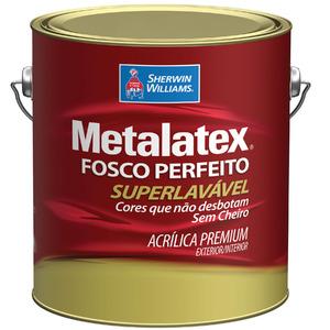 Tinta acr lica fosco perfeito metalatex premium bianco for Battiscopa bianco leroy merlin