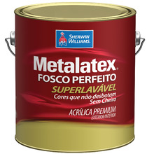 Tinta Acrílica Fosco Premium Metalatex Terracota 3,60L Sherwin Williams