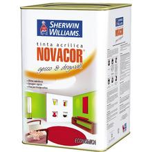 Tinta Acrílica Fosco Econômica Novacor Gesso & Drywall Branco 18 L Sherwin Williams