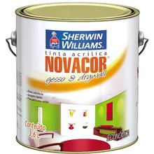 Tinta Acrílica Fosco Econômica Novacor Gesso & Drywall Branco 3,60 L Sherwin Williams