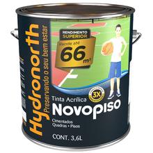 Tinta Acrílica Fosco Novo Piso Cinza 3,6L Hydronorth