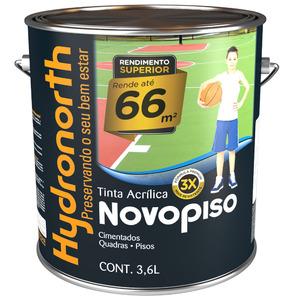 Tinta Acrílica Fosco Novo Piso Verde 3,6L Hydronorth