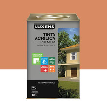 Tinta Acrílica Fosco Premium Barcelona 18L Luxens