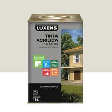 Tinta Acrílica Fosco Premium Gelo 18L Luxens