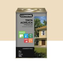 Tinta Acrílica Fosco Premium Marfim 18L Luxens