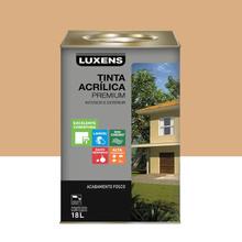 Tinta Acrílica Fosco Premium Mel 18L Luxens