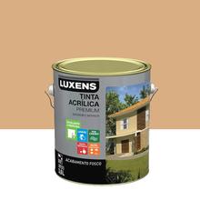 Tinta Acrílica Fosco Premium Mel 3,6L Luxens