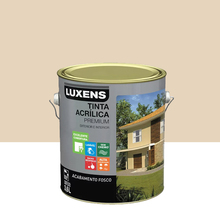 Tinta Acrílica Fosco Premium Palha 3,6L Luxens