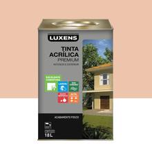 Tinta Acrílica Fosco Premium Pêssego 18L Luxens