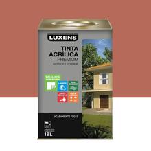 Tinta Acrílica Fosco Premium Terracota 18L Luxens