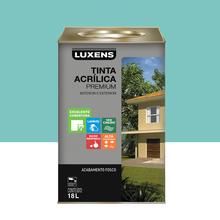 Tinta Acrílica Fosco Premium Turquesa 18L Luxens