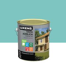 Tinta Acrílica Fosco Premium Turquesa 3,6L Luxens