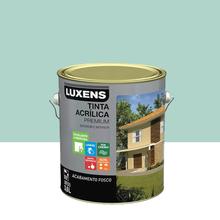 Tinta Acrílica Fosco Premium Verde Mar 3,6L Luxens