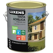 Tinta Acrílica Fosco Premium Violete 3,6L Luxens