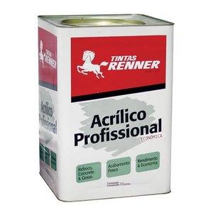 Tinta Acrílica Fosco Profissional 18L Renner