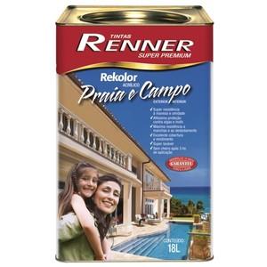 Tinta Acrílica Fosco Rekolor Pró 18L Renner