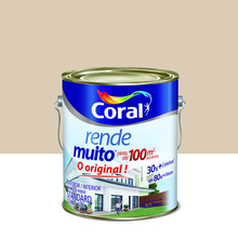 Tinta Acrílica Fosco Rende Muito Standard Areia 3,6L Coral