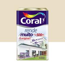 Tinta Acrílica Fosco Rende Muito Standard Palha 18L Coral