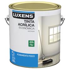Tinta Acrílica Fosco Standard Laranja Cítrico 3,6L Luxens