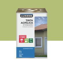 Tinta Acrílica Fosco Standard Verde Limão 18L Luxens