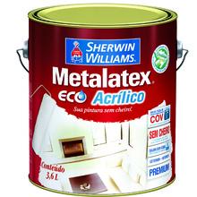 Tinta Acrílica Fosco Premium Vermelho Rústico Metalatex Eco 3,6L