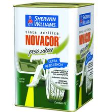 Tinta Acrílica para Piso Semi Brilho Standard Novacor Piso Ultra Cinza 18 L Sherwin Williams