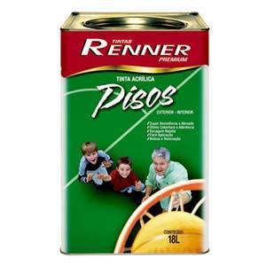 Tinta Acrílica Pisos Cinza Fosco 18l Renner