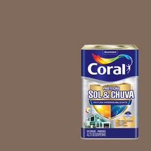 Tinta Acrílica Premium Impermeabilizante Fosco Proteção Sol & Chuva Cogumelo Japonês 18L Coral