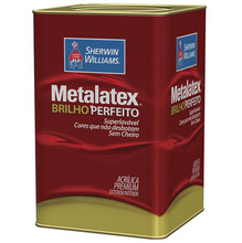 Tinta Acrílica Semi Brilho Premium Metalatex Marfim 18L Sherwin Williams