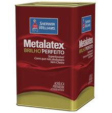Tinta Acrílica Semi Brilho Premium Metalatex Palha 18L Sherwin Williams
