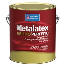 Tinta Acrílica Semi Brilho Premium Metalatex Palha 3,60L Sherwin Williams