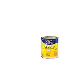 Tinta Acrílica Semi Brilho Premium Decora Branco 3,6L Coral