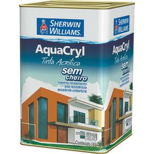 Tinta Acrílica Semibrilho Aquacryl 18L Branco Sherwin Williams