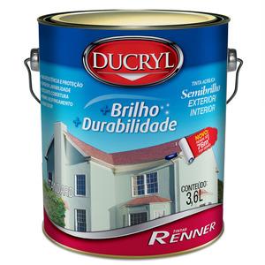 Tinta Acrílica Semibrilho Ducryl 3,6L Renner