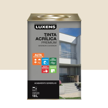 Tinta Acrílica Semibrilho Premium Algodão Egípcio 18L Luxens