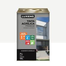 Tinta Acrílica Semibrilho Premium Branco 18L Luxens