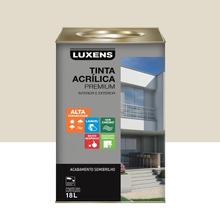 Tinta Acrílica Semibrilho Premium Gelo 18L Luxens