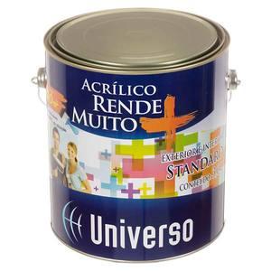 Tinta acrílica Standard 3,6L Branco Universo