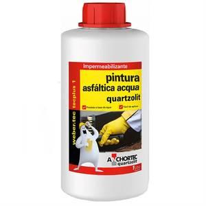 Tinta Asfáltica Acqua 1L Quartzolit