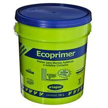 Tinta Asfáltica Impermeabilizante Ecoprimer Preta Lata 18L Asfalto para Manta Asfáltica