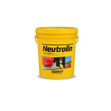 Tinta Asfáltica Negrolin à Base de EmuLão para Concretos e Argamassas Marrom 18L Vedacit