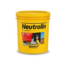Tinta Asfáltica Neltrolin à Base de Emulsão para Concretos e Argamassas Marrom 1L Vedacit