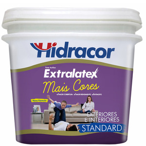 Tinta Base HS Tinta Acrílica Fosco Standad Extralatex 0,8L Hidracor