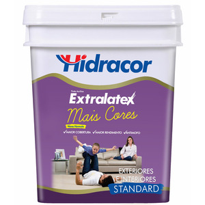 Tinta Base HS Tinta Acrílica Fosco Standad Extralatex 16L Hidracor