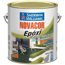 TINTA EPOXI NOVACOR BASE D/AGUA 3,6L PRETO SHERWIN WILLIAMS