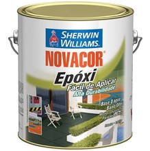 TINTA EPOXI NOVACOR BASE D/AGUA 3,6L VERMELHO SHERWIN WILLIAMS