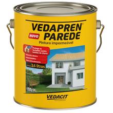 Tinta Impermeabilizante Parede Vedapren 3,6L Branco Vedacit