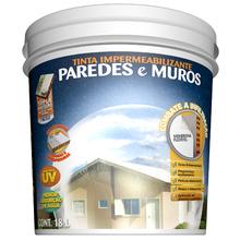 Tinta Impermeabilizante Paredes e Muros 18L Branco Hydronorth